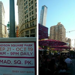Outdoor Eats At Madison Square