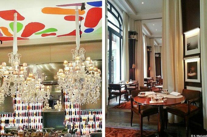 Breakfast buffet at La Cuisine, Le Royal Monceau, Paris
