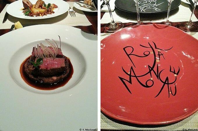 Michelin star dinner at La Cuisine, Paris