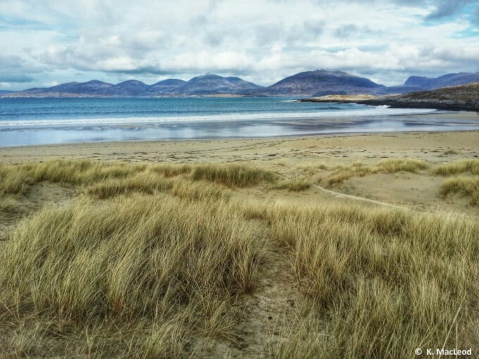 Luskentyre beach and the Harris Hills
