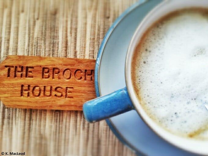 Broch Coffee and Keys