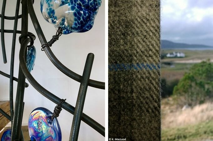 Harris Tweed and interior design at the Broch