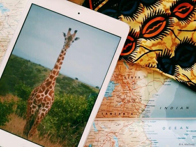 Souvenirs and snapshots from Kenya