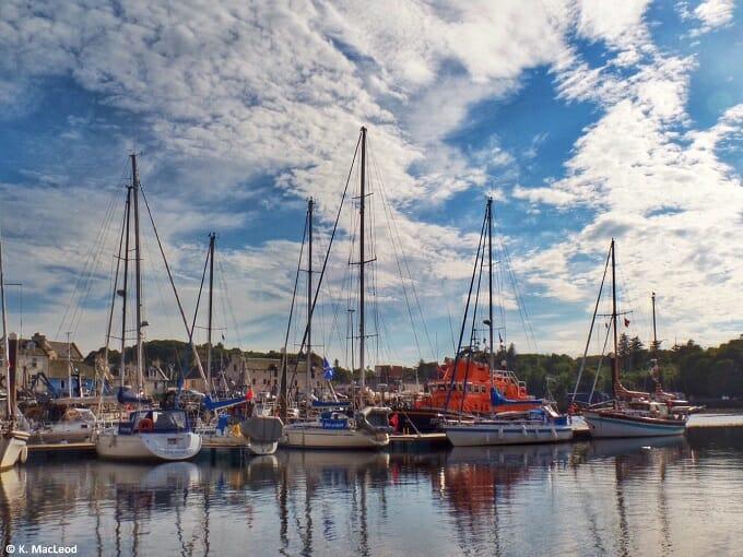 Stornoway pontoons