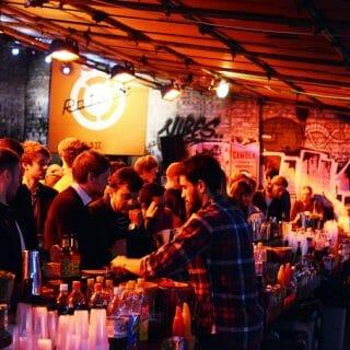 Down at Dalston Yard: Street Feast London