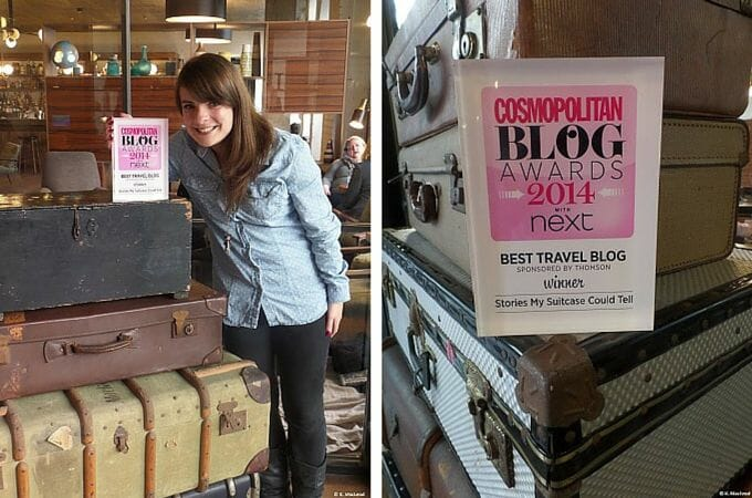 Stories My Suitcase Could Tell at The Hoxton Holborn after Cosmopolitan Blog Awards