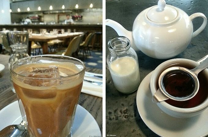 Tea and coffee at Hubbard and Bell