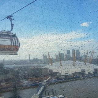 Flying Over the River Thames with Emirates Air Line