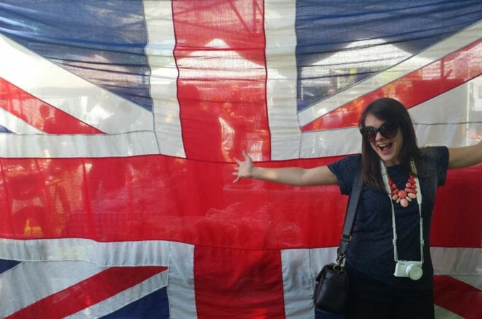 Getting excited about a Union Jack in Chicago