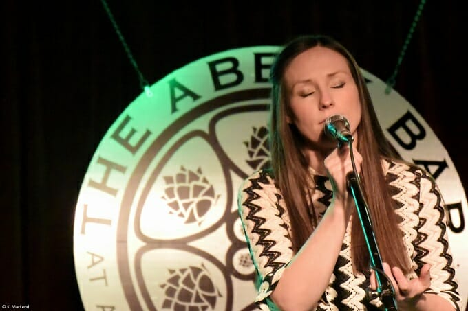 Julie Fowlis performing on US tour