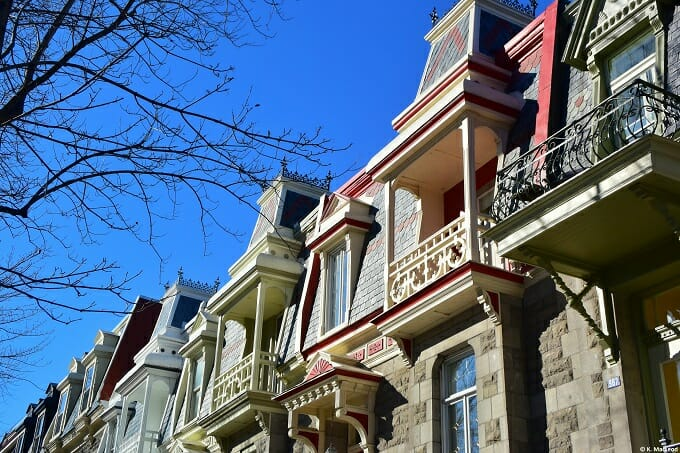 Montreal balconies
