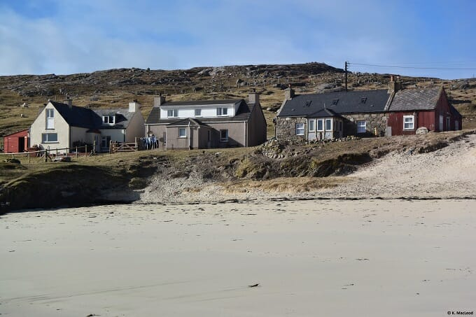 Houses at Huisinis, Isle of Harris