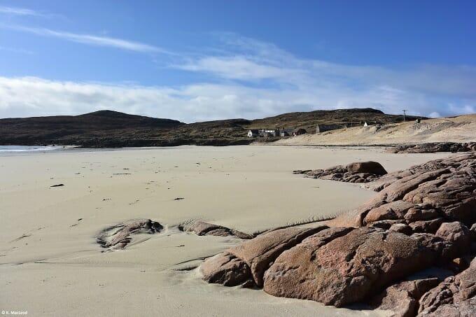 Rocks on Huisinis beach