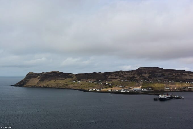 Uig cliffs, the Isle of Skye