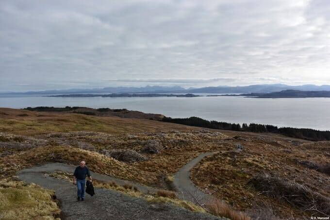 Climbing the Storr, Isle of Skye