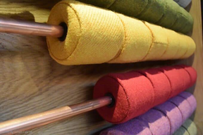 Harris Distillery tweed abacus