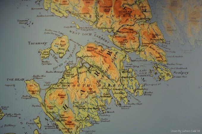 Isle of Harris map