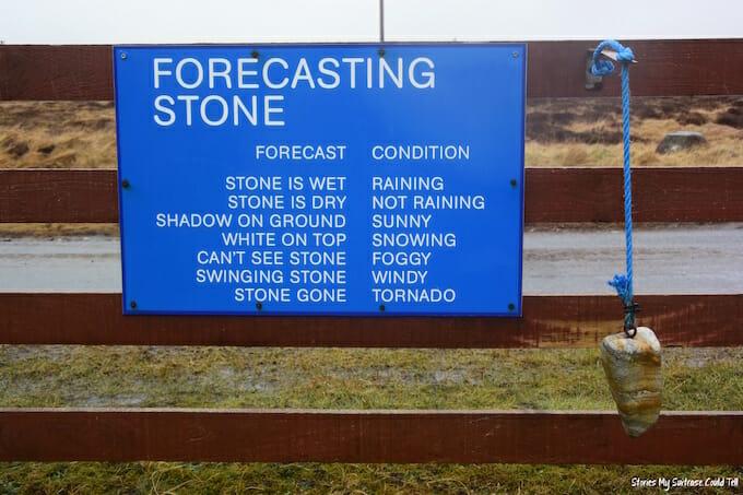 Forecasting stone Scotland