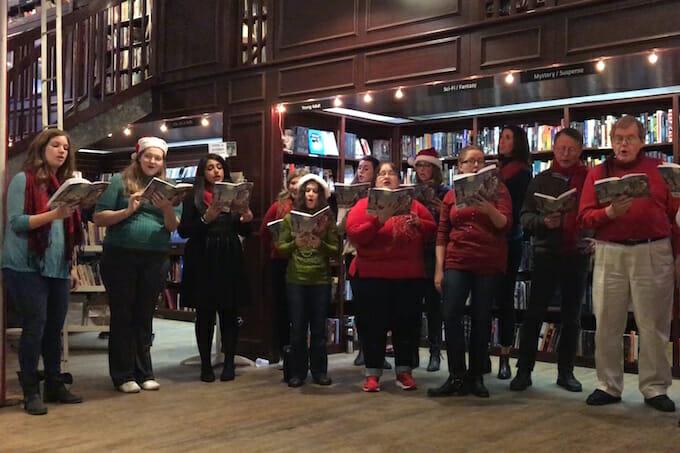 Housing Works Bookstore Carols