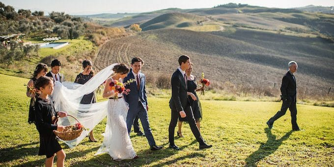 Love, Laughter, and Wine: A Destination Wedding in Tuscany