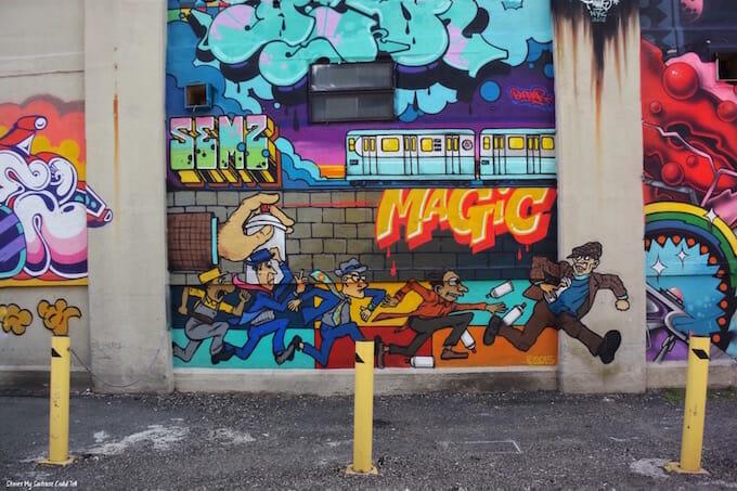 Long Island City art mural
