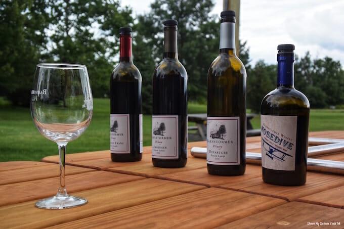 Wine tasting Barnstormer Winery
