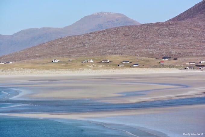 Seilebost and Luskentyre beaches Isle of Harris