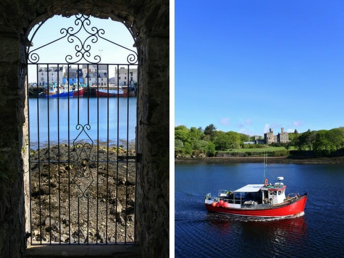 Stornoway Harbour Outer Hebrides