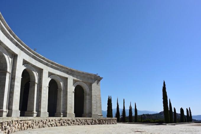 Outside Valley of the Fallen Spain