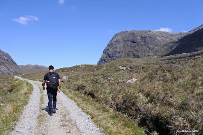Isle of Harris walking route
