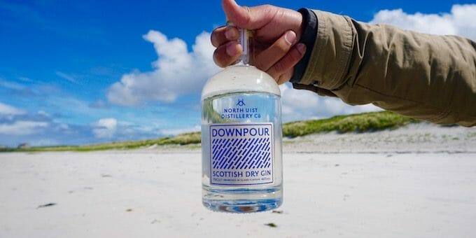 Downpour Gin: Island Life Distilled at North Uist Distillery