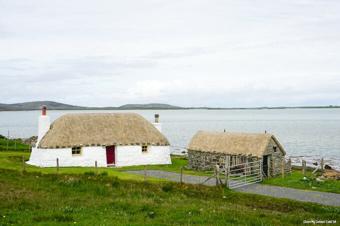 Thatched cottage North Uist