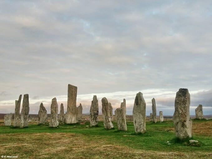 visit the Outer Hebrides