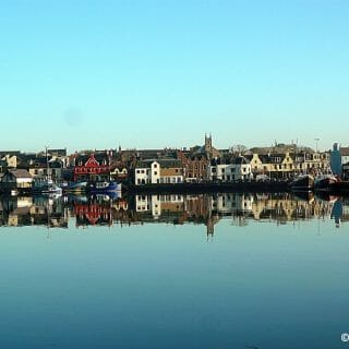 Stornoway Harbour Reflections