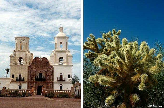 San Xavier del Bac Mission, Tucson