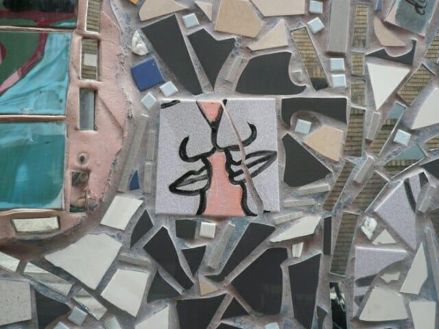 Mosaic on South Street, Philadelphia