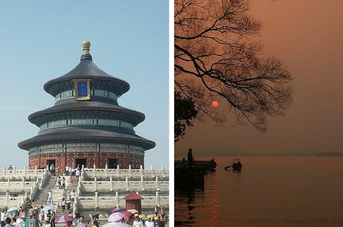 Temple of Heaven and Hangzhou's West Lake