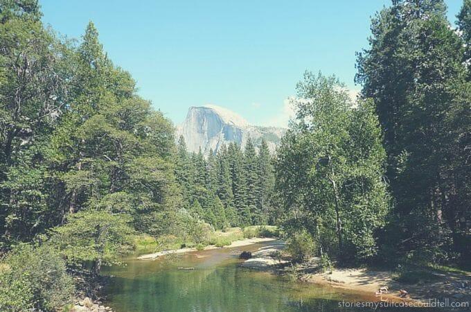 Half Dome, Yosemite National Parl, California
