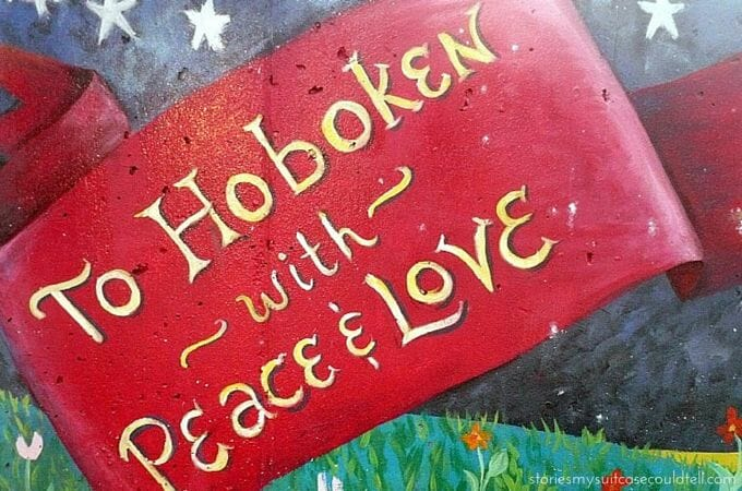 Peace and love mural, Hoboken
