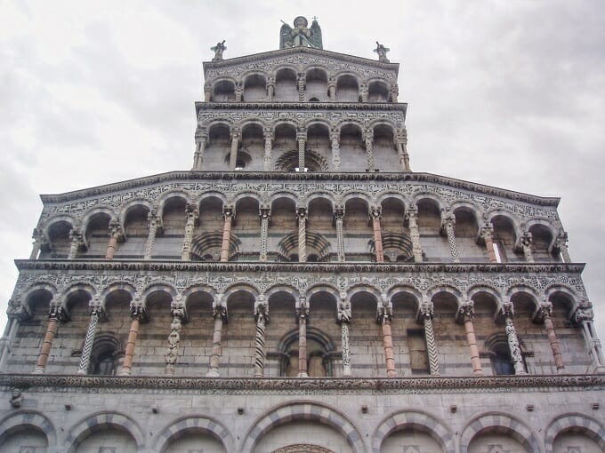 Catherdral in Lucca, Tuscany
