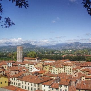 Lucca skyline, Tuscany