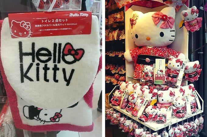 Hello Kitty merchandise in Tokyo, Japan