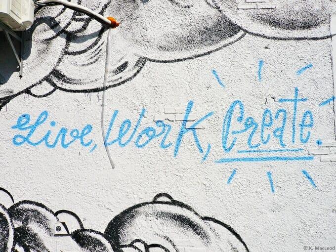 Live Work Create - Brooklyn Street Art