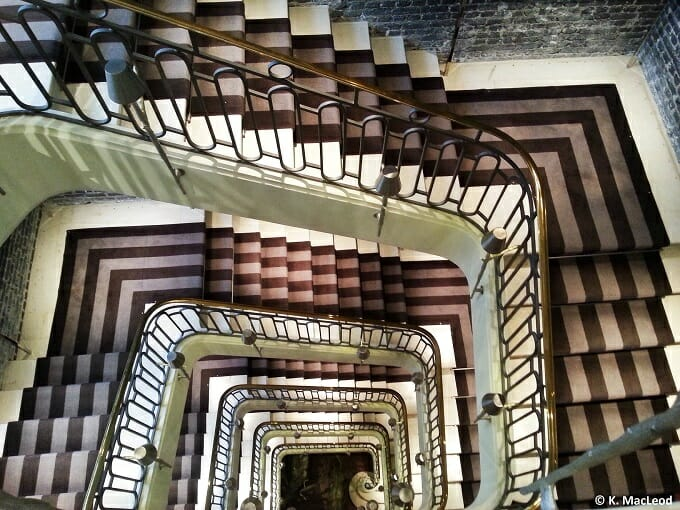 Le Royal Monceau Stairwell