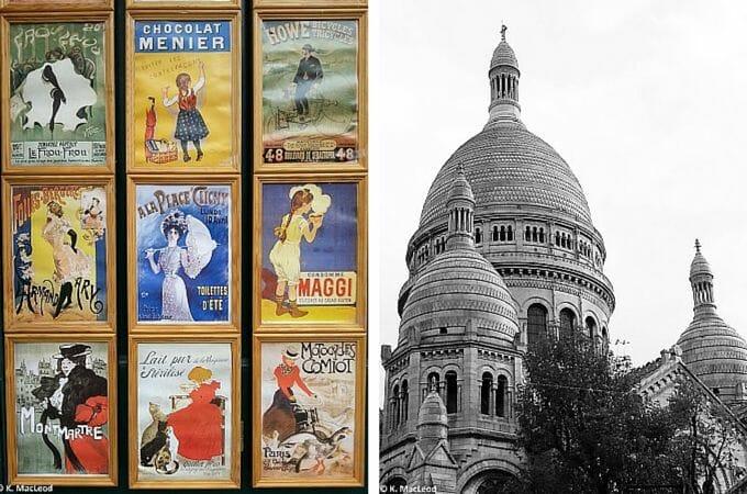 Art at the Sacre Coeur, Paris