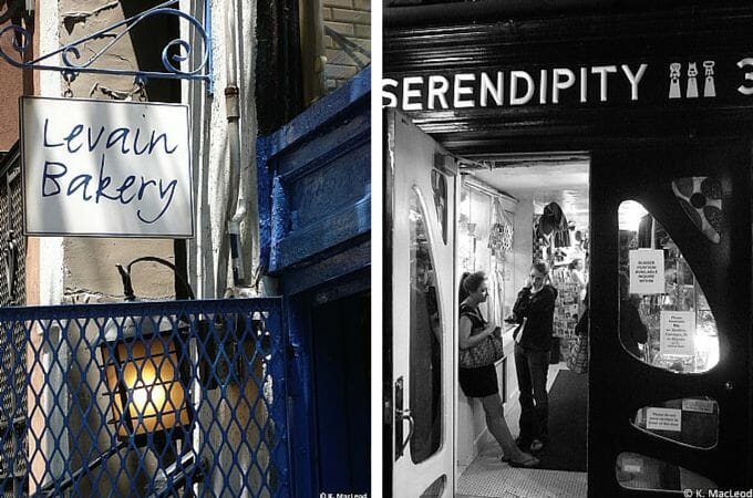 Levain Bakery and Serendipity 3, NYC