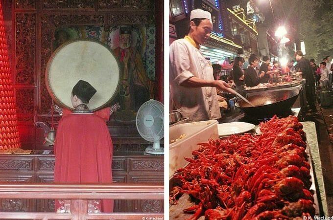 Street food in Xi'an's Muslim Quarter