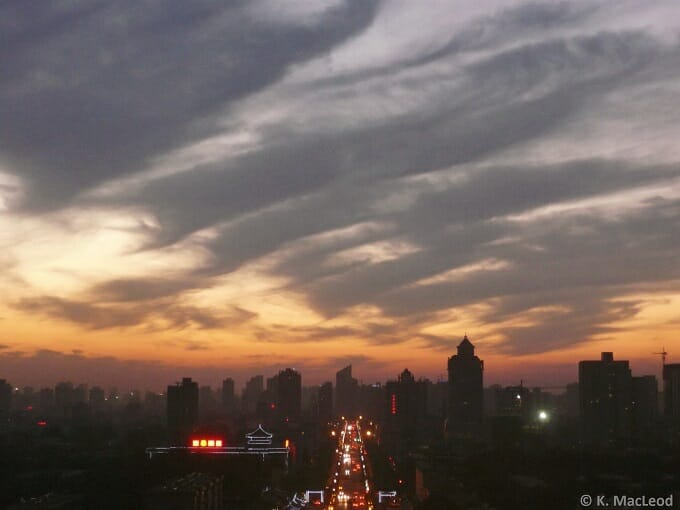 The start of the Silk Road in Xi'an.