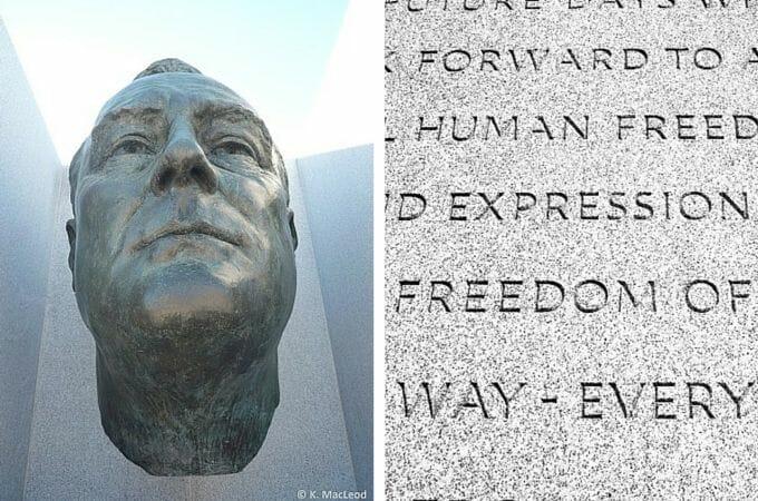 FDR Memorial on Roosevelt Island, New York City