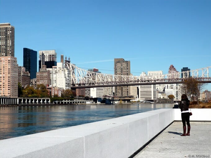 Looking over East River to Manhattan